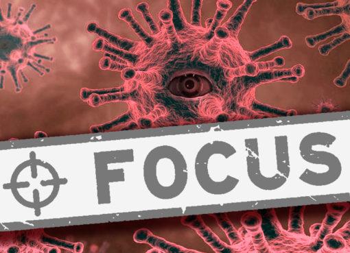 Coronavirus focus word